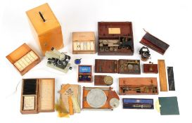 Property of a deceased estate - a mid 19th century monocular microscope by Smith & Beck, 6 Coleman