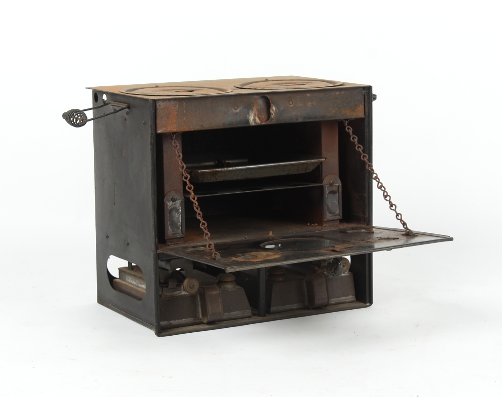 Property of a gentleman - a Rippingilles patent barge stove, model number 490. - Image 2 of 2