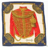 Property of a lady - a Hermes silk scarf entitled 'BRANDEBOURGS'.