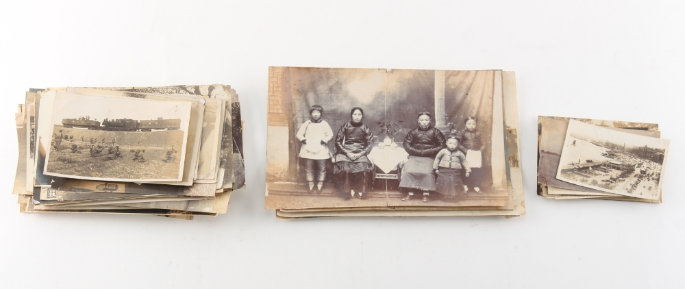 Property of a gentleman - a quantity of early 20th century Chinese photographs, mostly family - Image 2 of 2