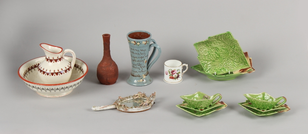 Property of a deceased estate - a quantity of assorted ceramics including an Art Deco style