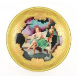 A Minton bowl painted with a classical scene by Roger Shufflebotham (active 1954-74), titled to