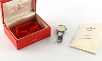 A gentleman's Tudor (Rolex) Oyster Prince Rotor Self-Winding stainless steel cased wristwatch, circa