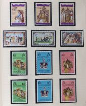 Stamps - British Empire: a mixed range in three stock books (also a few foreign) including 1935