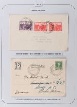 The Basil Lewis (1927-2019) collection of stamps - Argentina: 1931-69 exhibition cancellations on