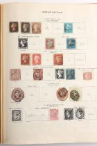 """Stamps - British Empire: A collection in a """"New Ideal"""" album including 1935 Jubilee mint sets for"""