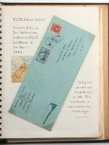 Stamps - Canada: in seven volumes, including airmail first and special flight covers from 1935