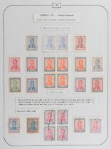 The Basil Lewis (1927-2019) collection of stamps - Argentina: 1917-29 a collection on leaves