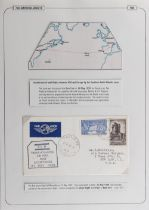The Basil Lewis (1927-2019) collection of stamps - World: PanAm North Atlantic and South Atlantic