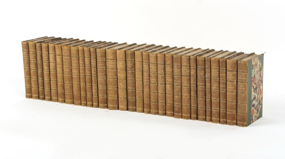 Property of a lady - STEVENSON, Robert Louis - Works - a set of twenty-nine volumes, Chatto & Windus