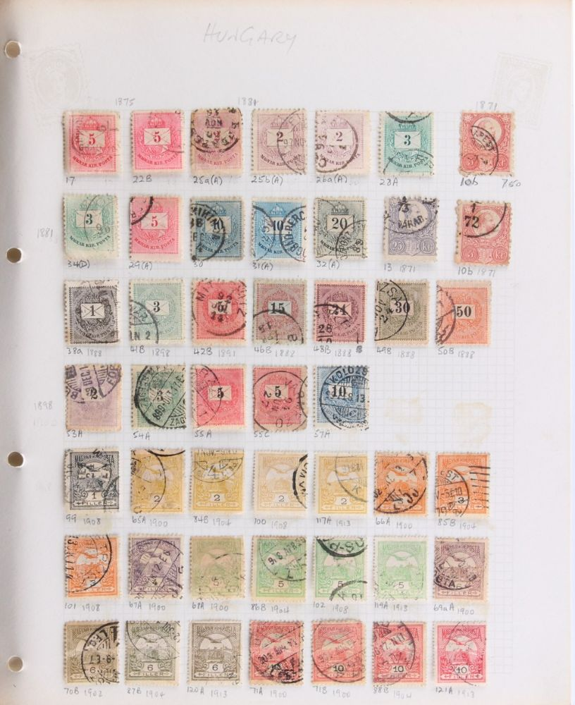 Philately including the Basil Lewis (1927-2019) Collection of Stamps & Postal History; Pictures, Books & Prints; and General Antiques & Objects
