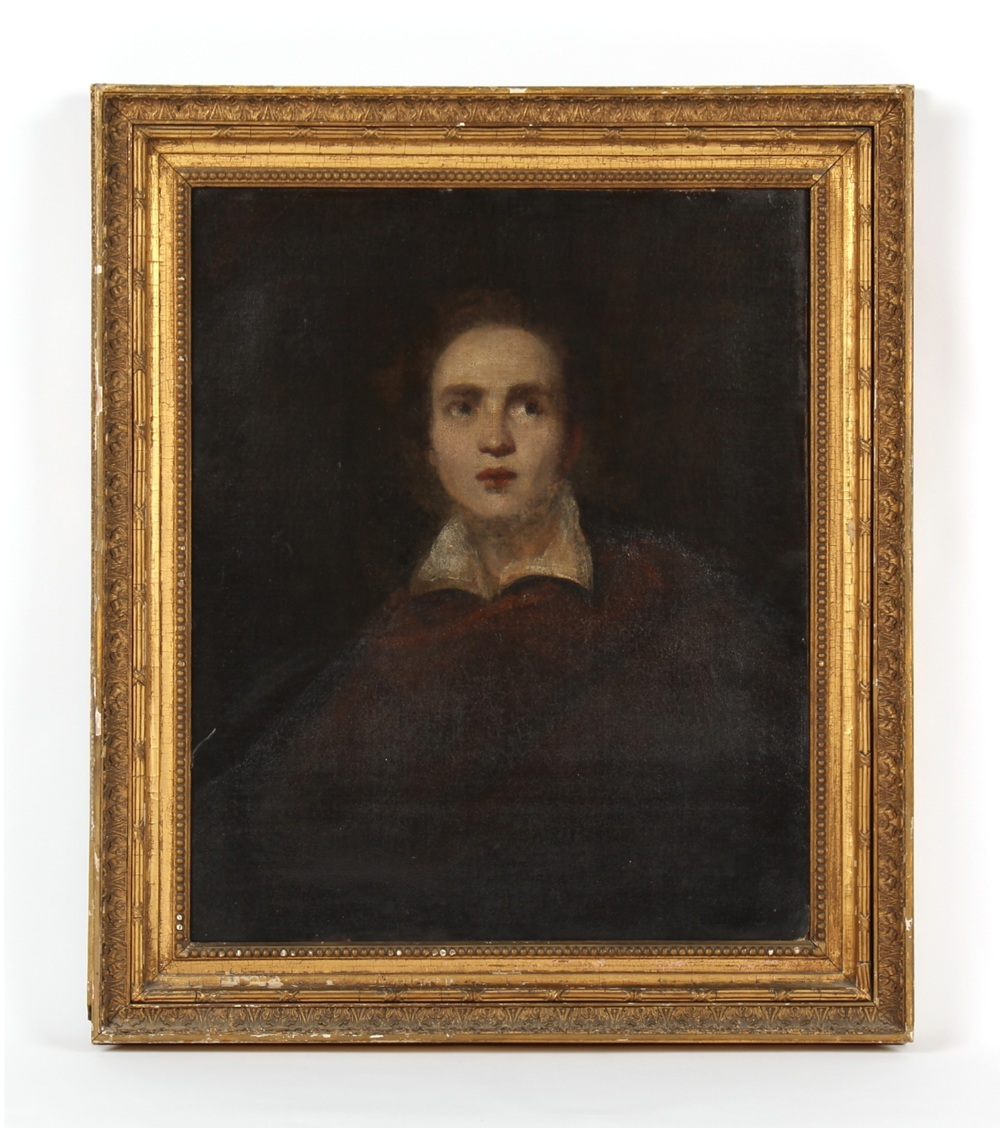 Property of a lady - English school (late 18th / early 19th century) - PORTRAIT OF A YOUNG GENTLEMAN