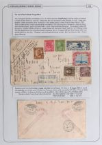 The Basil Lewis (1927-2019) collection of stamps - World: Catapult Flights, 1928-35 a small