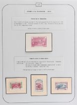 The Basil Lewis (1927-2019) collection of stamps - Argentina: 1910 Centenary, a most attractive