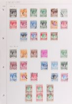 The Basil Lewis (1927-2019) collection of stamps - British Empire: Five volumes including