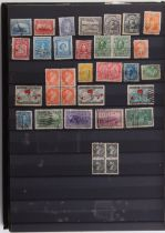 Stamps - Canada: A large stock book with a few earlies and commemorative sets from 1980's onwards