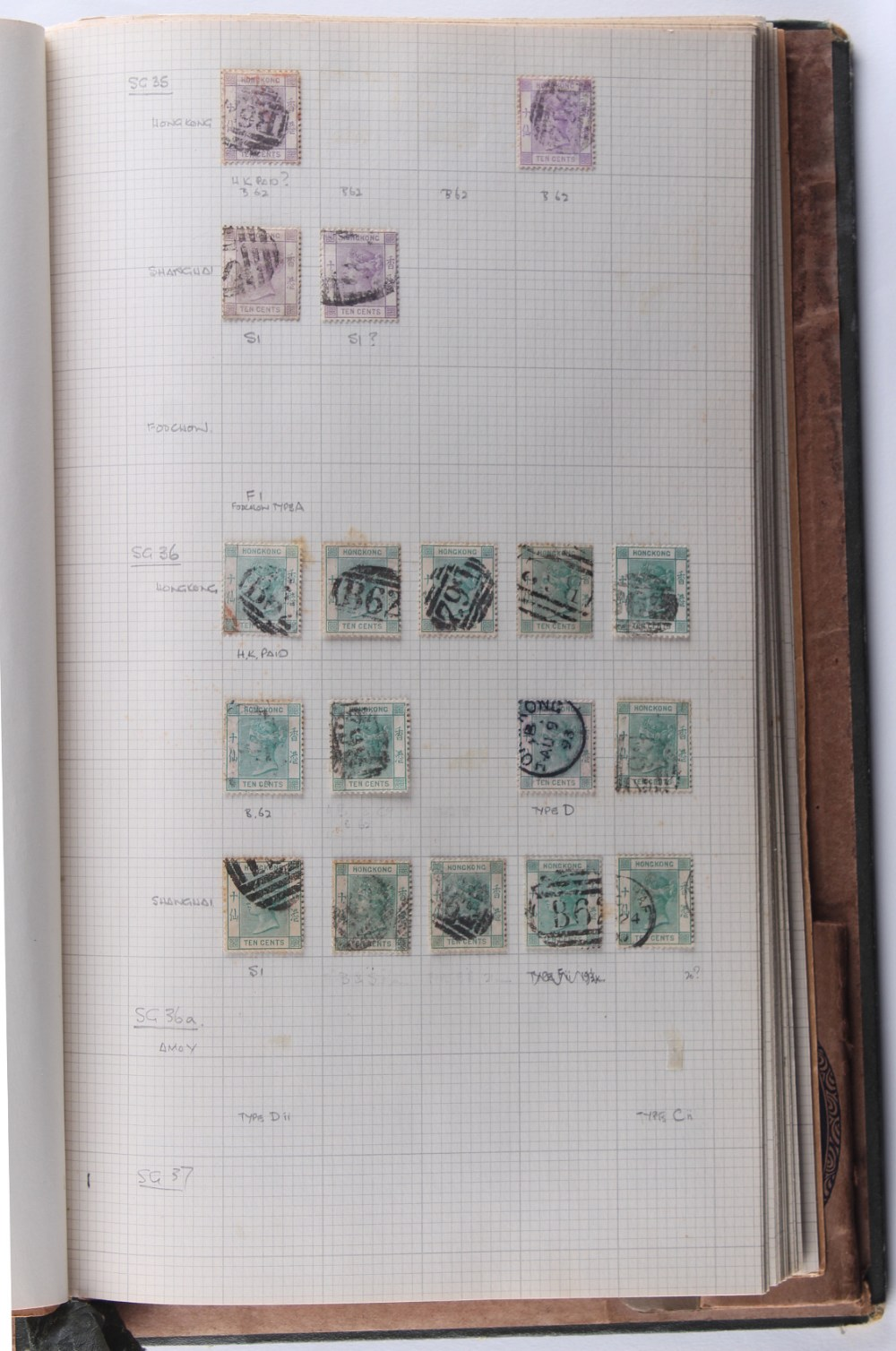 The Basil Lewis (1927-2019) collection of stamps - Hong Kong: A miscellaneous mainly used collection