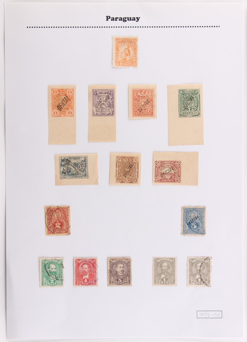 The Basil Lewis (1927-2019) collection of stamps - Foreign: Latin America - an album with