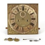 The Henry & Tricia Byrom Collection - Zachariah Hanwell, London, an 8-day longcase clock