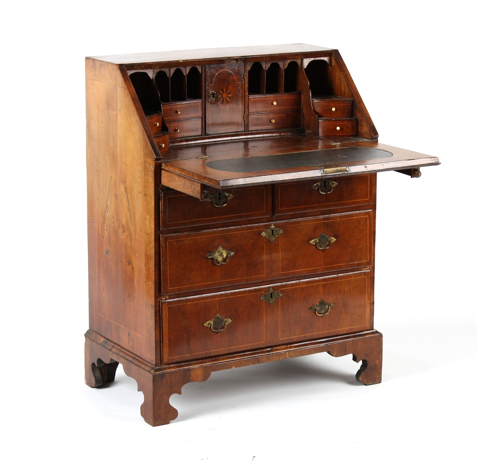Property from the estate of the late Lady Betty Shackleton (1913-2018) - a small George II walnut