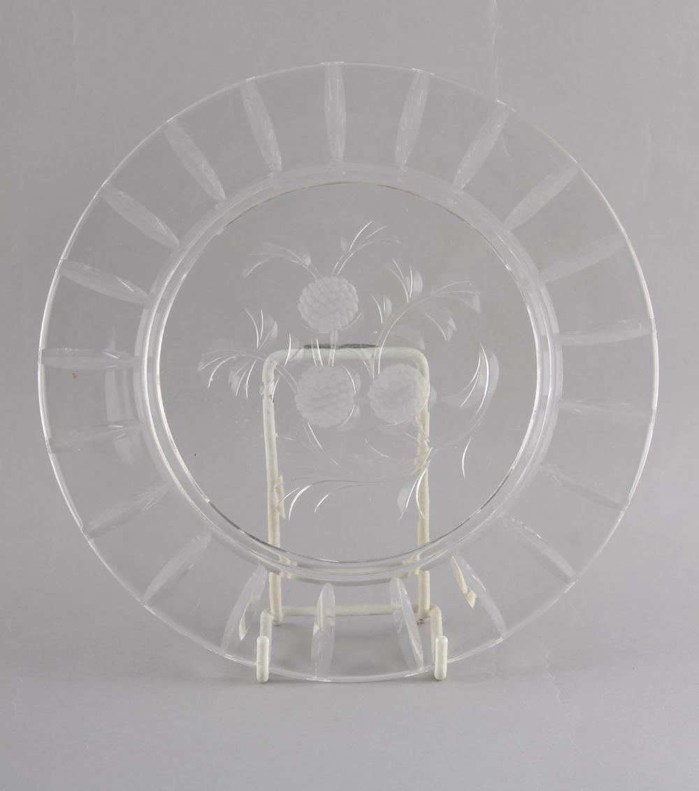 Property of a lady - a complete Edwardian Stuart cut glass dessert set comprising a set of four - Image 3 of 3