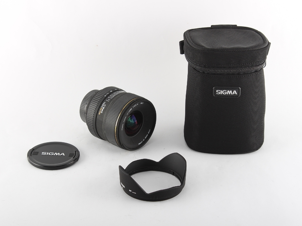 Property of a deceased estate, the cameras, lenses & photographic accessories of a professional
