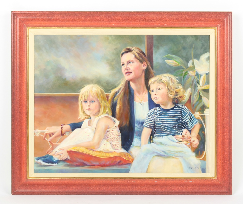 Property of a gentleman - Ann Davenport Mavroleon Dixon MBE (1942-2019) - 'TANIA COMPTON WITH SOPHIE