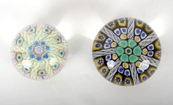 Property from the estate of the late Lady Betty Shackleton (1913-2018) - two millefiori &