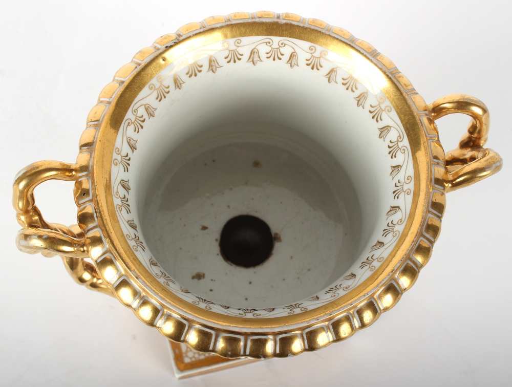 Property of a gentleman - a fine Worcester Flight Barr & Barr period two handled Shakespearian - Image 8 of 8