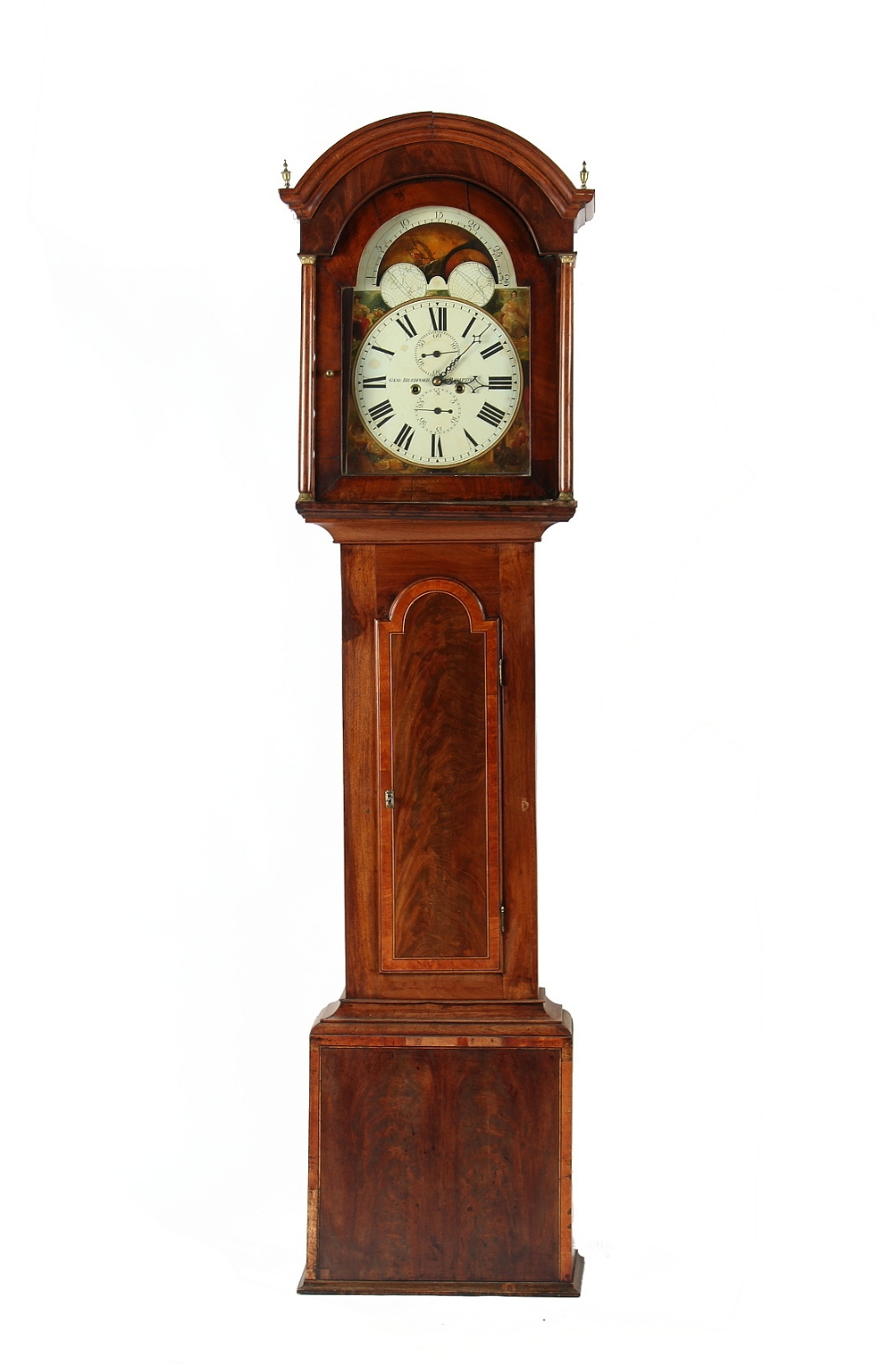 Property of a lady - an early 19th century mahogany cased 8-day striking longcase clock, the