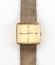 The Henry & Tricia Byrom Collection - a lady's Omega De Ville gold plated wristwatch, on Omega