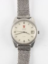 The Henry & Tricia Byrom Collection - a gentleman's Omega f300 Electronic Chronometer stainless