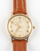 The Henry & Tricia Byrom Collection - a gentleman's Omega Seamaster automatic 9ct cased
