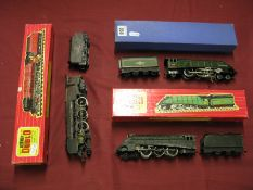 Three Hornby Dublo Locomotives, comprising a 4-6-2 A4 Locomotive - 'Silver King' with tender,