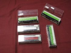 "A Kato ""N"" Gauge Outline Japanese Rolling Stock Items, including #8002 (3), cased."