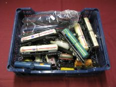 "A Quantity of ""OO"" Gauge Rolling Stock Items, by Lima, Wrenn, Tri-ang and other, playworn"