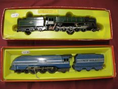 Two Tri-ang/Hornby 'OO' Scale Locomotives, a 2-10-0 'Evening' Star, tender drive, in original box,