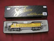 "A ""HO"" Gauge Outline American Locomotive, by Spectrum (Bachmann) #85003 DASH8 40C Locomotive,"