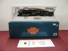 "A Broadway Limited Imports ""HO"" Gauge Outline American 2-8-2 USRA Heavy Locomotive, 'Unlettered' and"