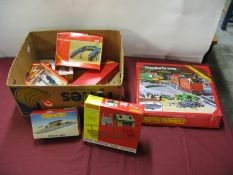"A Quantity of Hornby ""OO"" Gauge Lineside Buildings and Accessories, including GWR Footbridge, #"
