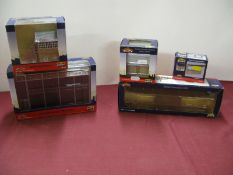 "Five Bachmann Branchline (Scenecraft) ""OO"" Scale Plastic Model Lineside Buildings/Accessories,"
