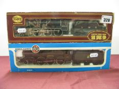 Two 'OO' Scale Airfix Locomotives, a 4-6-0 'Pendennis Castle' and a 4-6-0 'Royal Scots Fusilier',