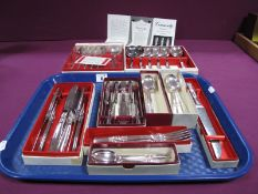 A Part Canteen of Community Plate Cutlery, (boxed) :- One Tray