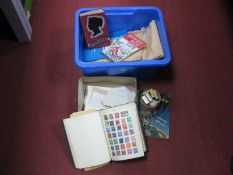 A Box Housing Mint and Used GB and World Stamps, loose and in packets. A Junior Stamp Album and a