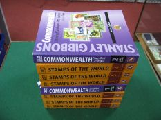 Stanly Gibbons Commonwealth Simplified Fifth Edition Volumes 1 and 2, plus Stanley Gibbons Stamps of