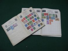 Two Junior Stamp Albums, mainly used many hundreds with very little after 1940's.