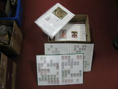 A Large Box Contain Three Stockbooks of Mainly Used French Stamps, with high cat, plus a range of