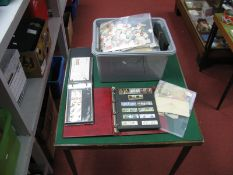 A Large Box of Stamps, including GB Mint Pre-Decimal and Decimal in binders and World Stamps in