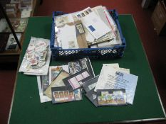 A Collection of Australian Stamps and Postal History, in a stockbook, packets and on album leaves,