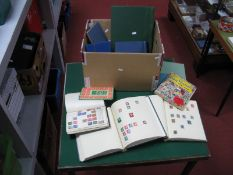 A Carton Containing Ten Stamp Albums and Stockbooks, with a good selection of World and Commonwealth